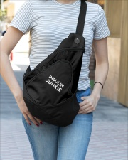 Diabetes Insulin Junkie Sling Pack garment-embroidery-slingpack-lifestyle-03