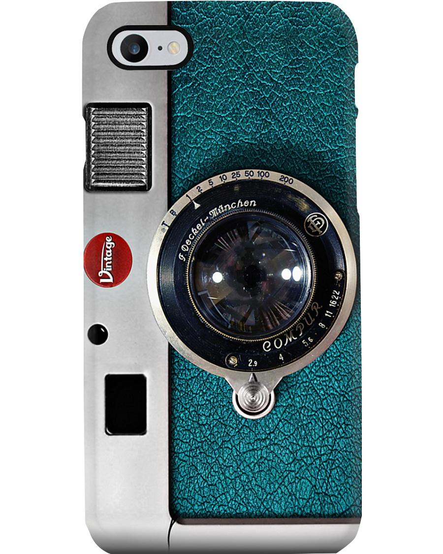 Blue Camera Photographer Phone Case