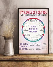 Occupational Therapist My Circle Of Control 11x17 Poster lifestyle-poster-3