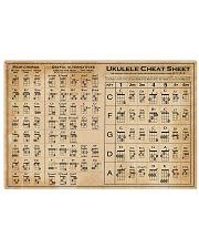 Ukulele Cheat Sheet 17x11 Poster front