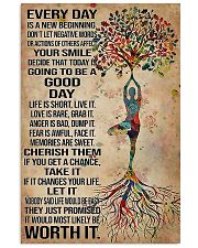 Yoga Every Day Is A New Beginning 11x17 Poster front