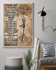 Yoga Every Day Is A New Beginning 11x17 Poster lifestyle-poster-1