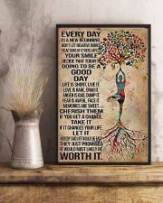 Yoga Every Day Is A New Beginning 11x17 Poster lifestyle-poster-3