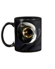 Trombone Black Mug back