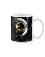 Trombone Black Mug tile