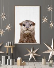 Otter Cute Poster 11x17 Poster lifestyle-holiday-poster-1