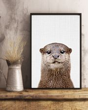 Otter Cute Poster 11x17 Poster lifestyle-poster-3