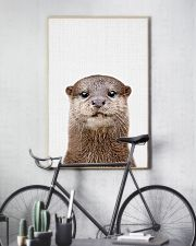 Otter Cute Poster 11x17 Poster lifestyle-poster-7