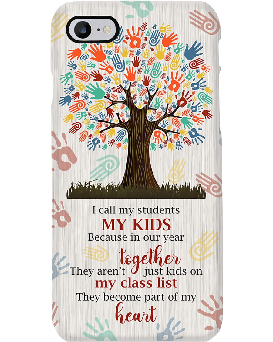 Students become part of Teacher's heart  Phone Case