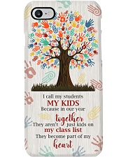 Students become part of Teacher's heart  Phone Case i-phone-7-case