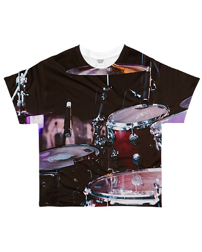 Drummer unique all over shirt