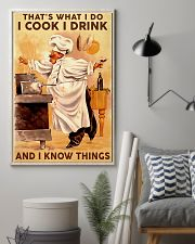 Chef I Cook I Drink And I Know Things 11x17 Poster lifestyle-poster-1