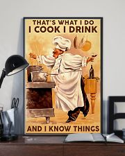 Chef I Cook I Drink And I Know Things 11x17 Poster lifestyle-poster-2