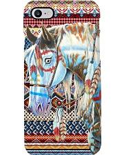 Horse Girl - Horse Brocade Phone Case i-phone-7-case