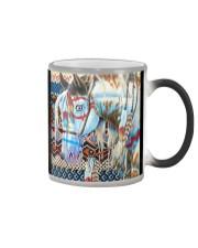 Horse Girl - Horse Brocade Color Changing Mug thumbnail