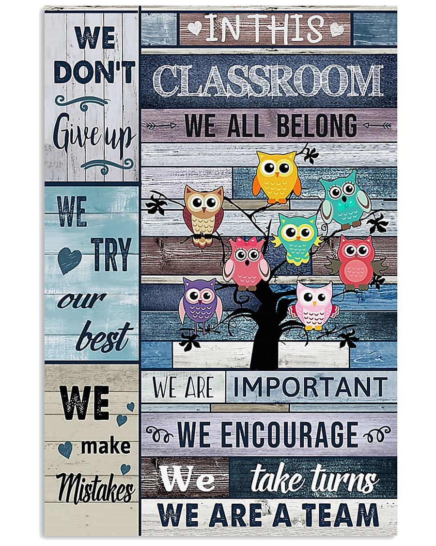 Teacher We Are A Team 11x17 Poster