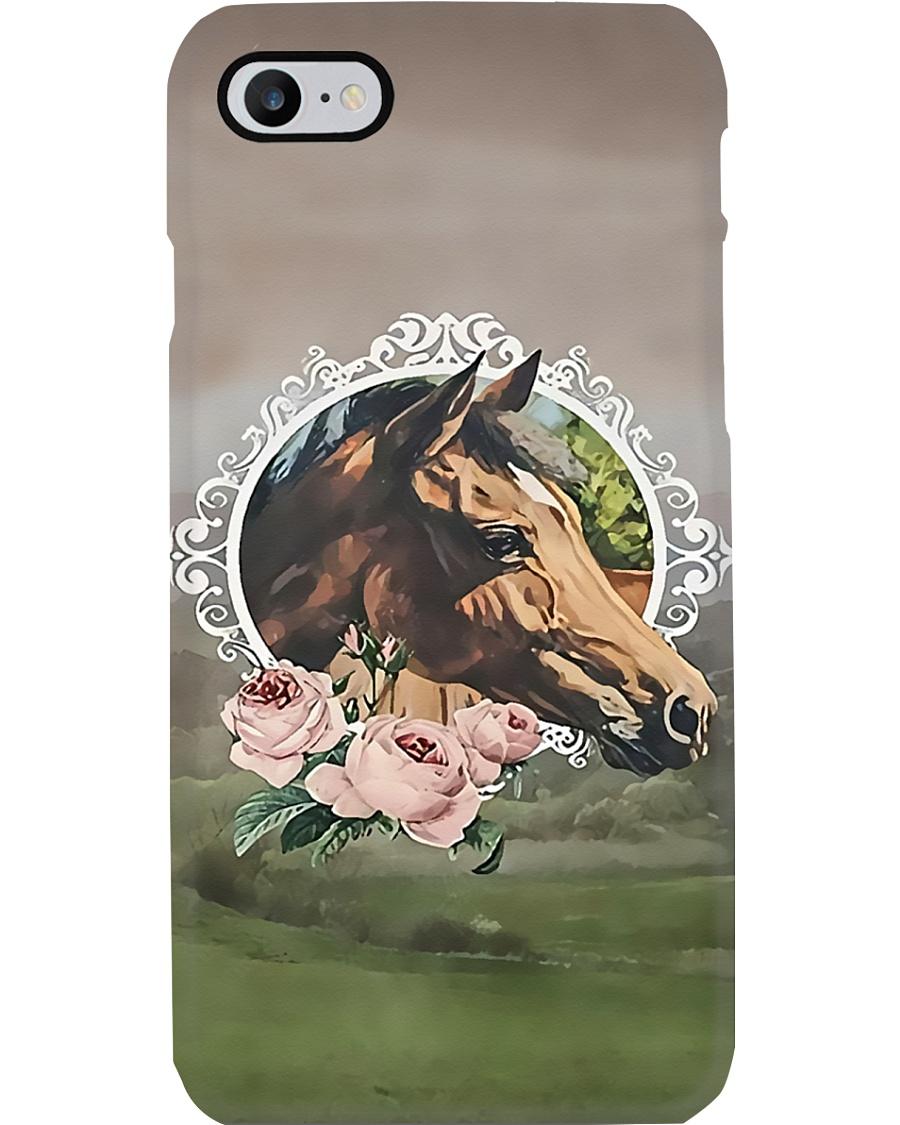 Horse Girl Horse head Phone Case