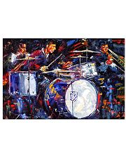 Drummer With Friends 17x11 Poster front