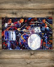 Drummer With Friends 17x11 Poster poster-landscape-17x11-lifestyle-14