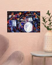 Drummer With Friends 17x11 Poster poster-landscape-17x11-lifestyle-22