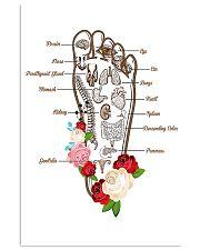 Massage Therapist Foot Massage 11x17 Poster front