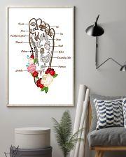 Massage Therapist Foot Massage 11x17 Poster lifestyle-poster-1