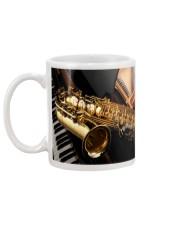 Saxophone And Piano Mug back