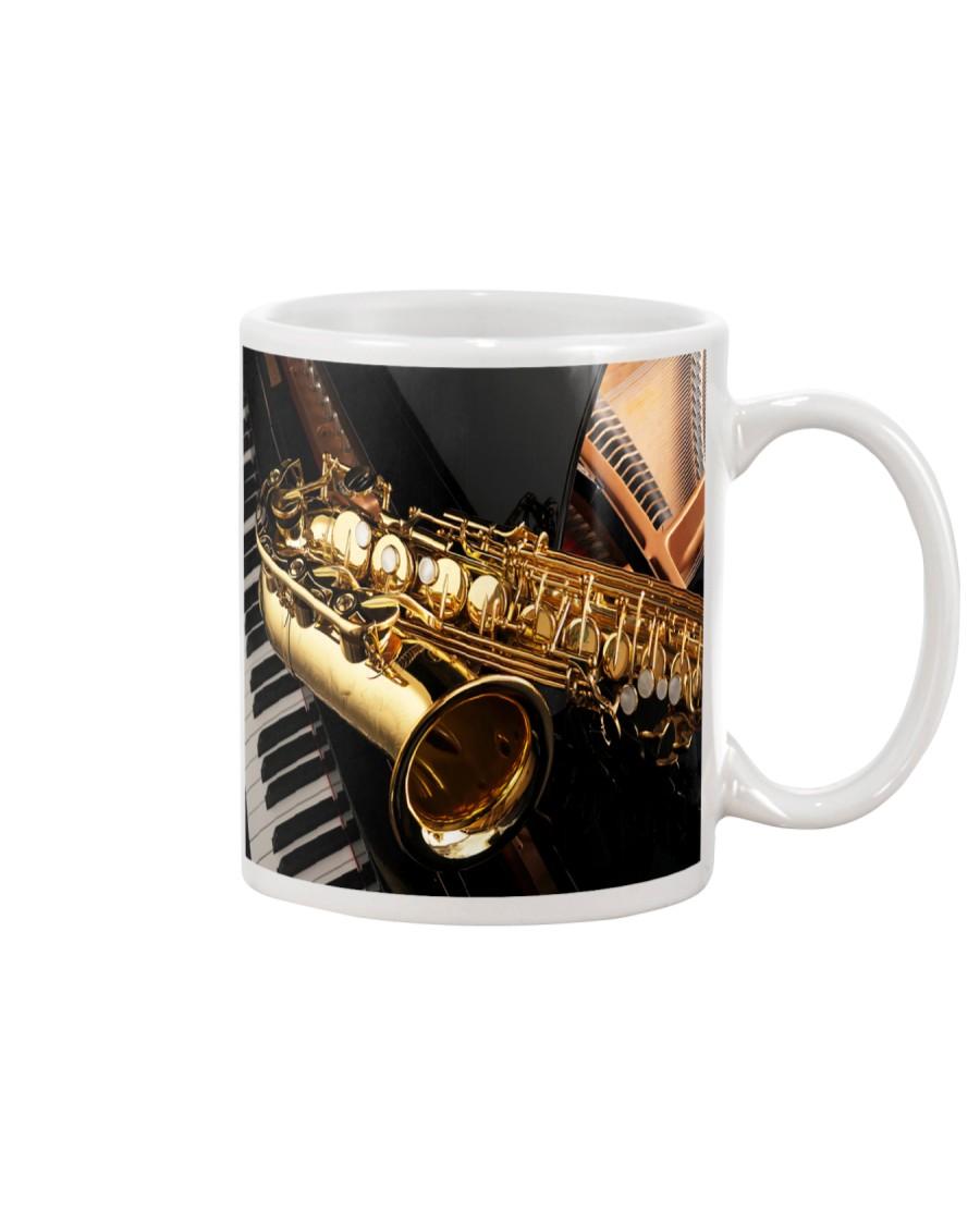 Saxophone And Piano Mug
