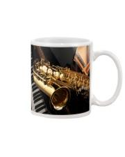 Saxophone And Piano Mug front