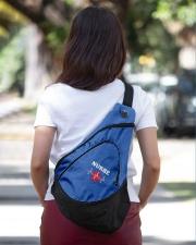 Nurse Heartbeat Slinging pack Sling Pack garment-embroidery-slingpack-lifestyle-04