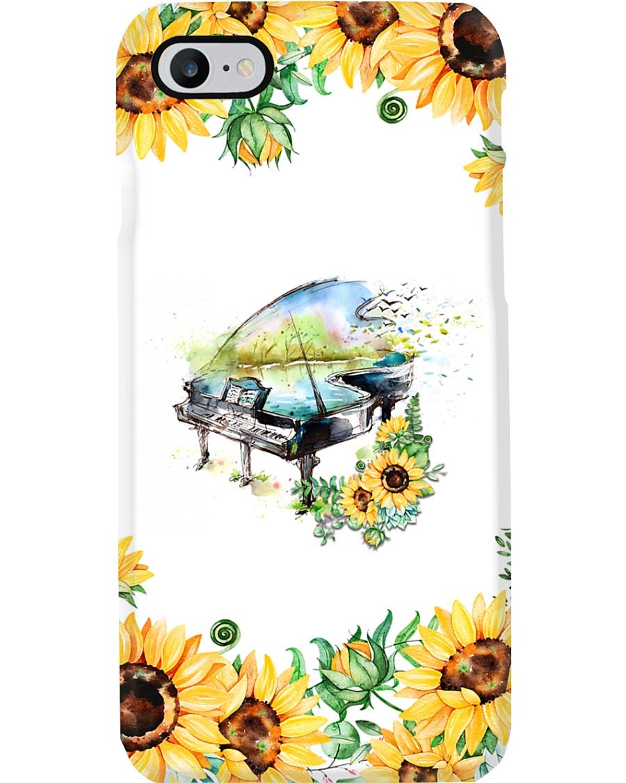 Pianist Sunflower Phone Case
