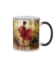 Pretty Ballet Dancer With The Red Dress Art Color Changing Mug thumbnail