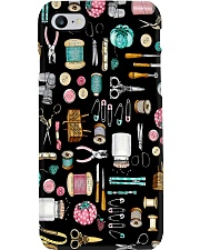 Sewing Tools In Black Background Phone Case i-phone-7-case