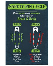 Chiropractor Safety Pin Cycle 16x24 Poster front