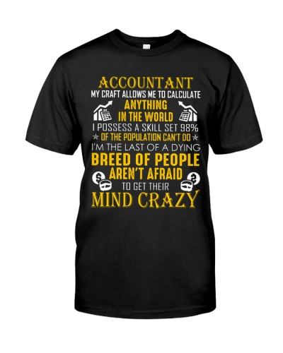 Accountant My Craft Allows Me