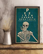 Optometrist Skull Chart 11x17 Poster lifestyle-poster-3