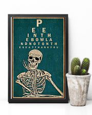 Optometrist Skull Chart 11x17 Poster lifestyle-poster-8