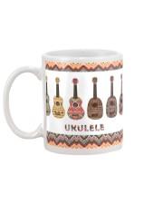 Ukulele Pattern Mug back