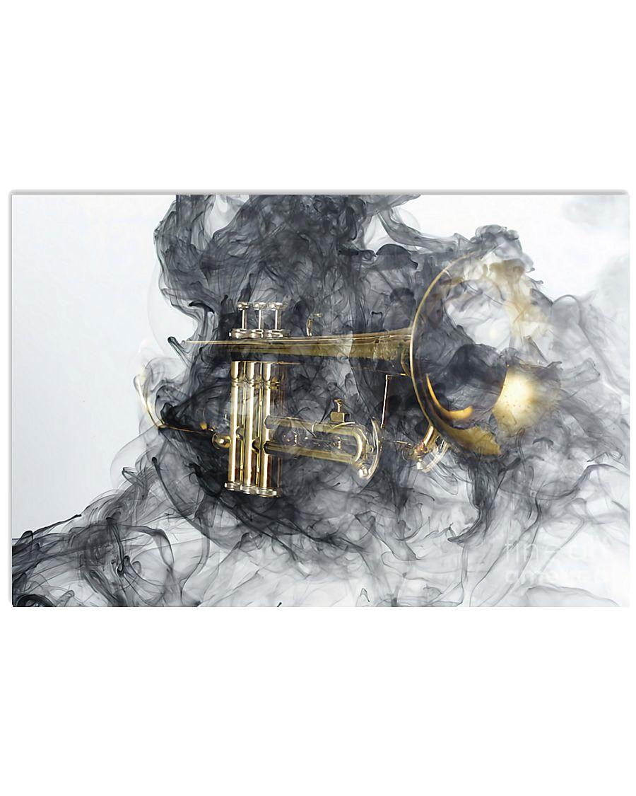 Trumpet Smoke 24x16 Poster