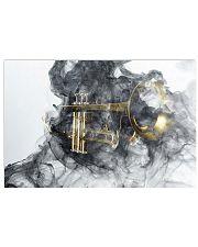 Trumpet Smoke 24x16 Poster front