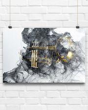 Trumpet Smoke 24x16 Poster poster-landscape-24x16-lifestyle-18