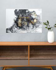 Trumpet Smoke 24x16 Poster poster-landscape-24x16-lifestyle-25