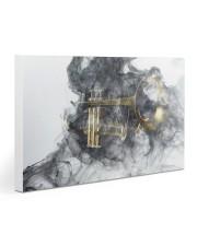 Trumpet Smoke 30x20 Gallery Wrapped Canvas Prints thumbnail