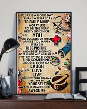 Pharmacist Today Is A Good Day 11x17 Poster lifestyle-poster-2
