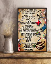 Pharmacist Today Is A Good Day 11x17 Poster lifestyle-poster-3