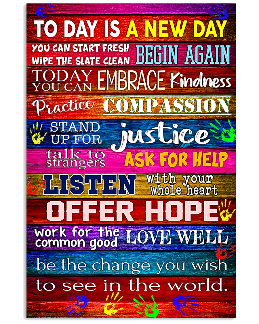 Social Worker Today is a new day 11x17 Poster