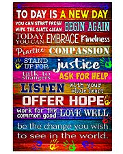 Social Worker Today is a new day 11x17 Poster front