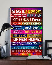 Social Worker Today is a new day 11x17 Poster lifestyle-poster-2