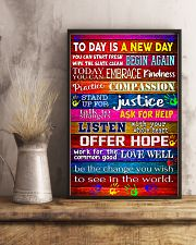 Social Worker Today is a new day 11x17 Poster lifestyle-poster-3
