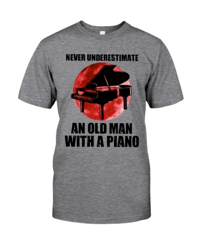 Never Underestimate An Old Man With A Piano